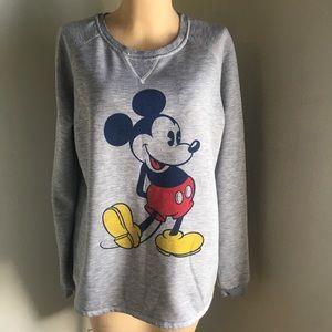 Cute Disney Mickey Mouse Lightweight Sweatshirt